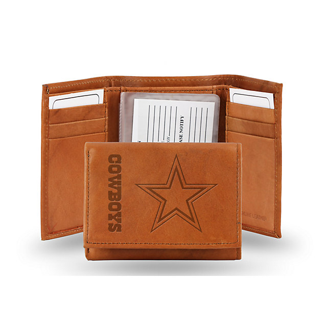 Dallas Cowboys Embossed Trifold Wallet
