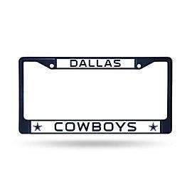 Dallas Cowboys Color Chrome License Plate Frame
