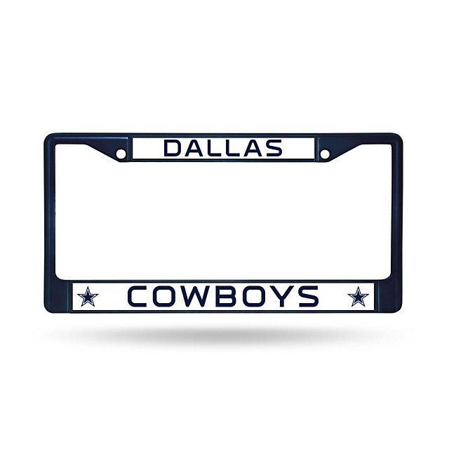 Dallas Cowboys Color Chrome License Plate Frame