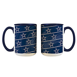 Dallas Cowboys Inner-Colored Sublimated Mug