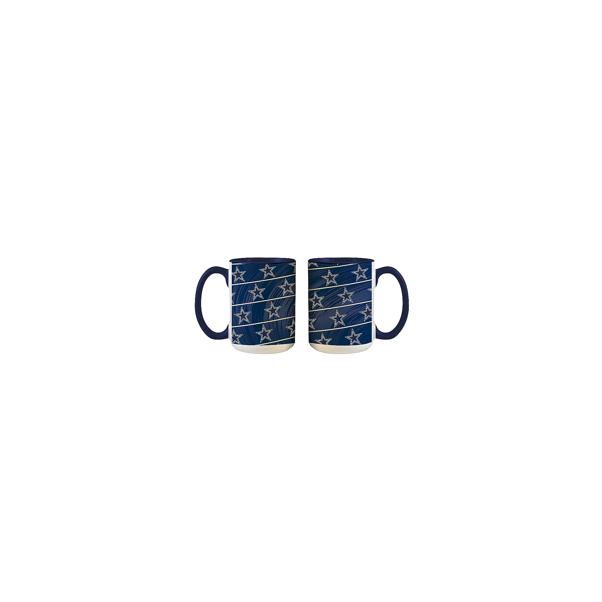 Dallas Cowboys Inner-Colored Sublimated Mug