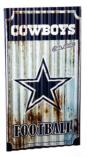 Dallas Cowboys Corrugated Metal Wall Art