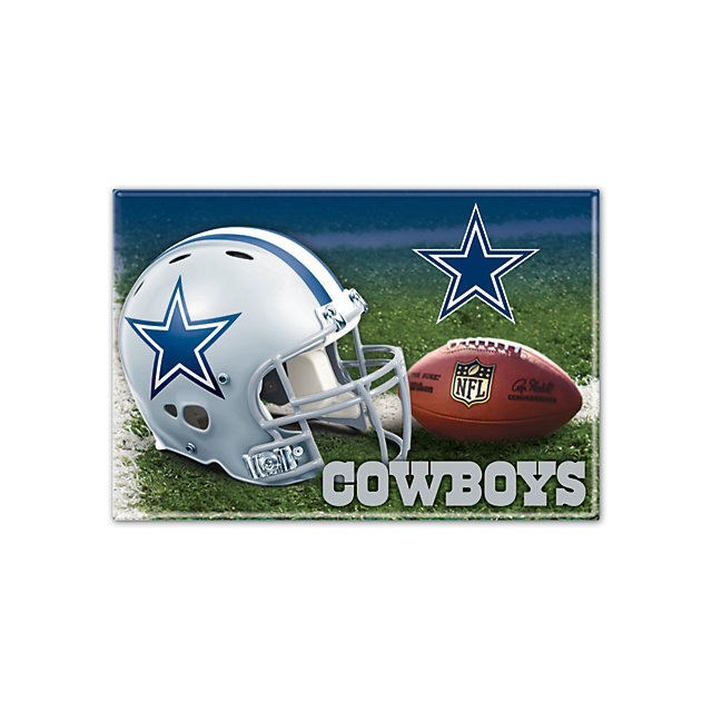 Dallas Cowboys Rectangle Metal Magnet