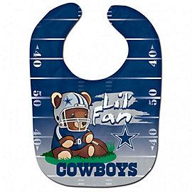 Dallas Cowboys Baby Snap Bib