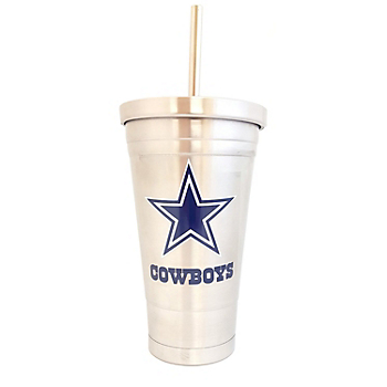 Dallas Cowboys 16 oz Stainless Steel Tumbler