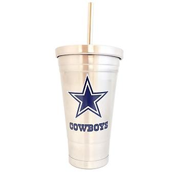 Dallas Cowboys 16 oz Stainless Steel Tumbler