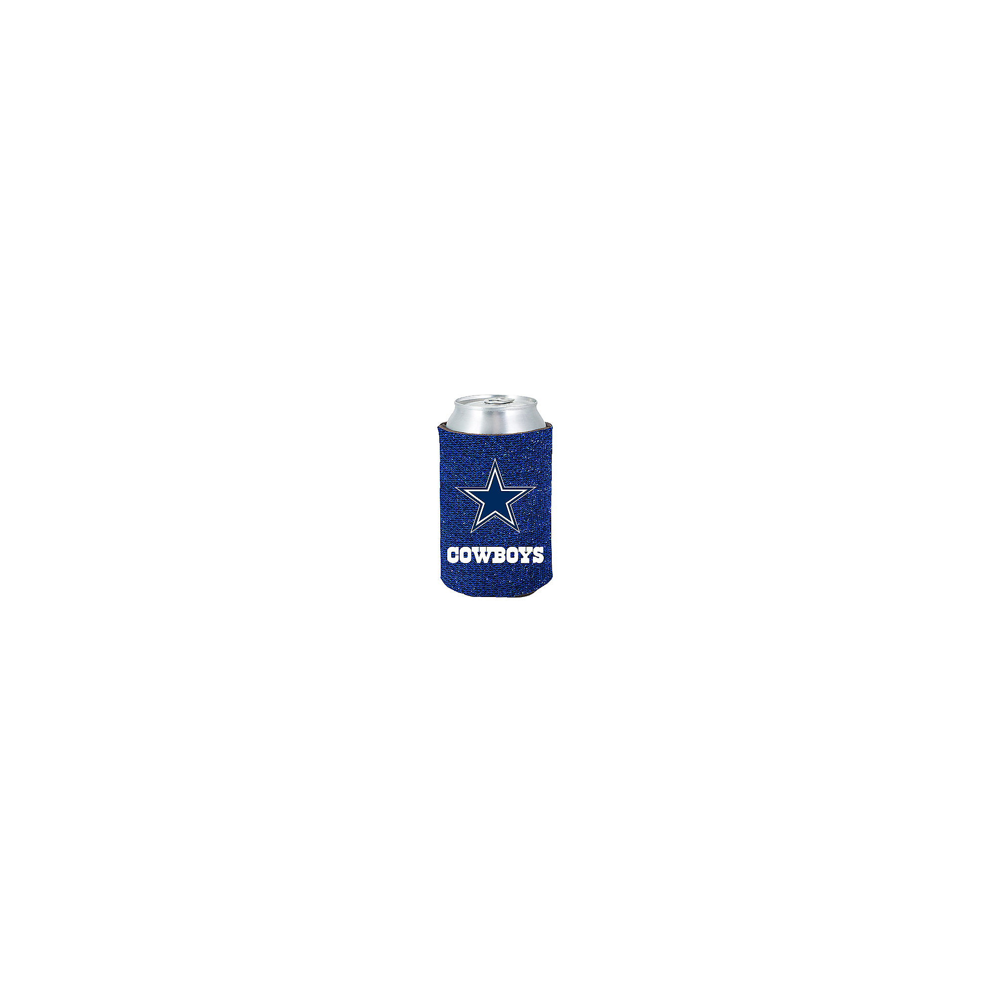 Dallas Cowboys Blue Glitter Coolie