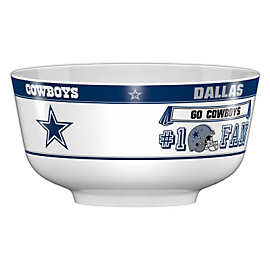 Dallas Cowboys Party Bowl
