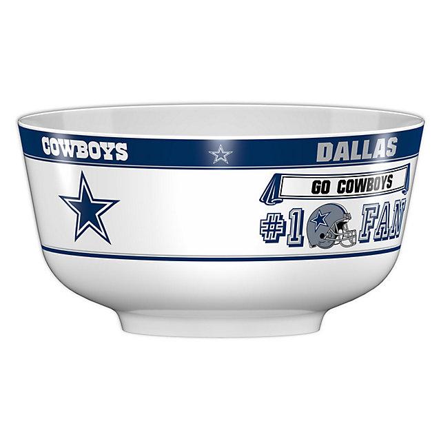 Dallas Cowboys Party Bowl