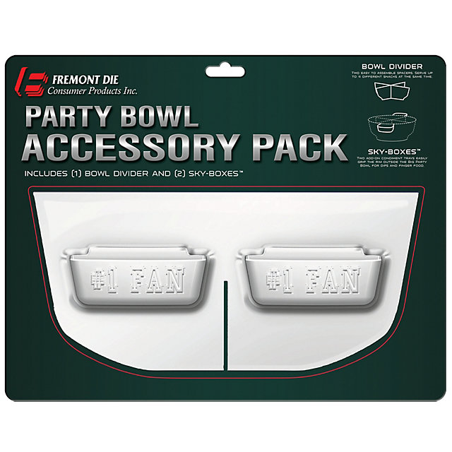 Dallas Cowboys Party Bowl Accessory Pack
