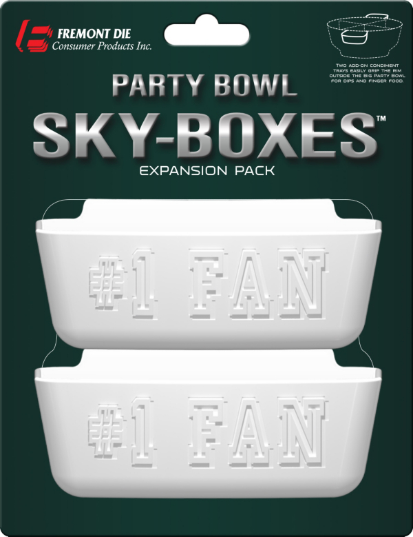 Dallas Cowboys Party Bowl Sky-Boxes