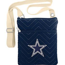 Dallas Cowboys Chev Stitch Cross Body Purse