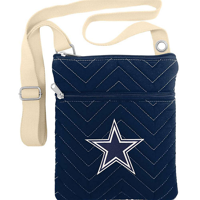 Dallas Cowboys Chev Stitch Cross Body Purse