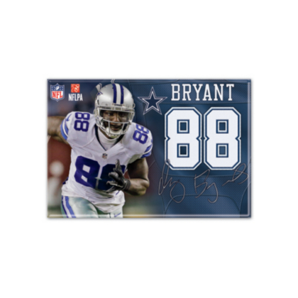 Dallas Cowboys Dez Bryant Player Magnet | Kitchen | Home U0026 Office |  Accessories | Cowboys Catalog | Dallas Cowboys Pro Shop
