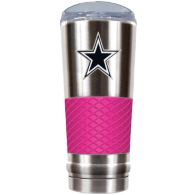 Dallas Cowboys The Draft 24 oz Pink Vacuum Insulated Cup