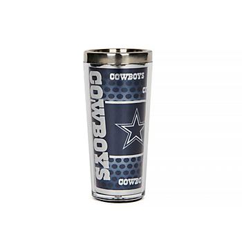 Dallas Cowboys 3 oz. Metallic Shot Glass