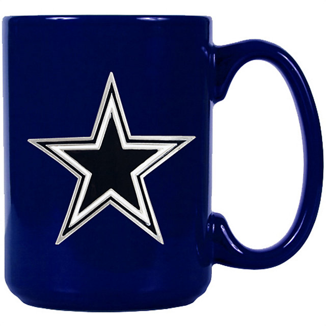 Good Dallas Cowboys Blue Ceramic Coffee Mug