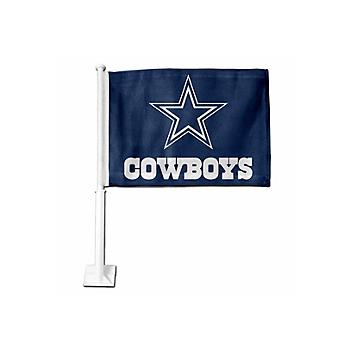 Dallas Cowboys Navy Logo Car Flag
