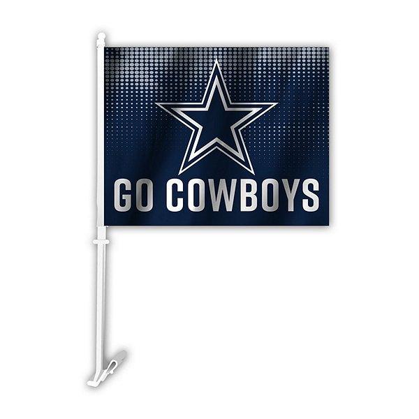 Dallas Cowboys Go Car Flag