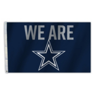 Dallas Cowboys 3x5 We Are Flag