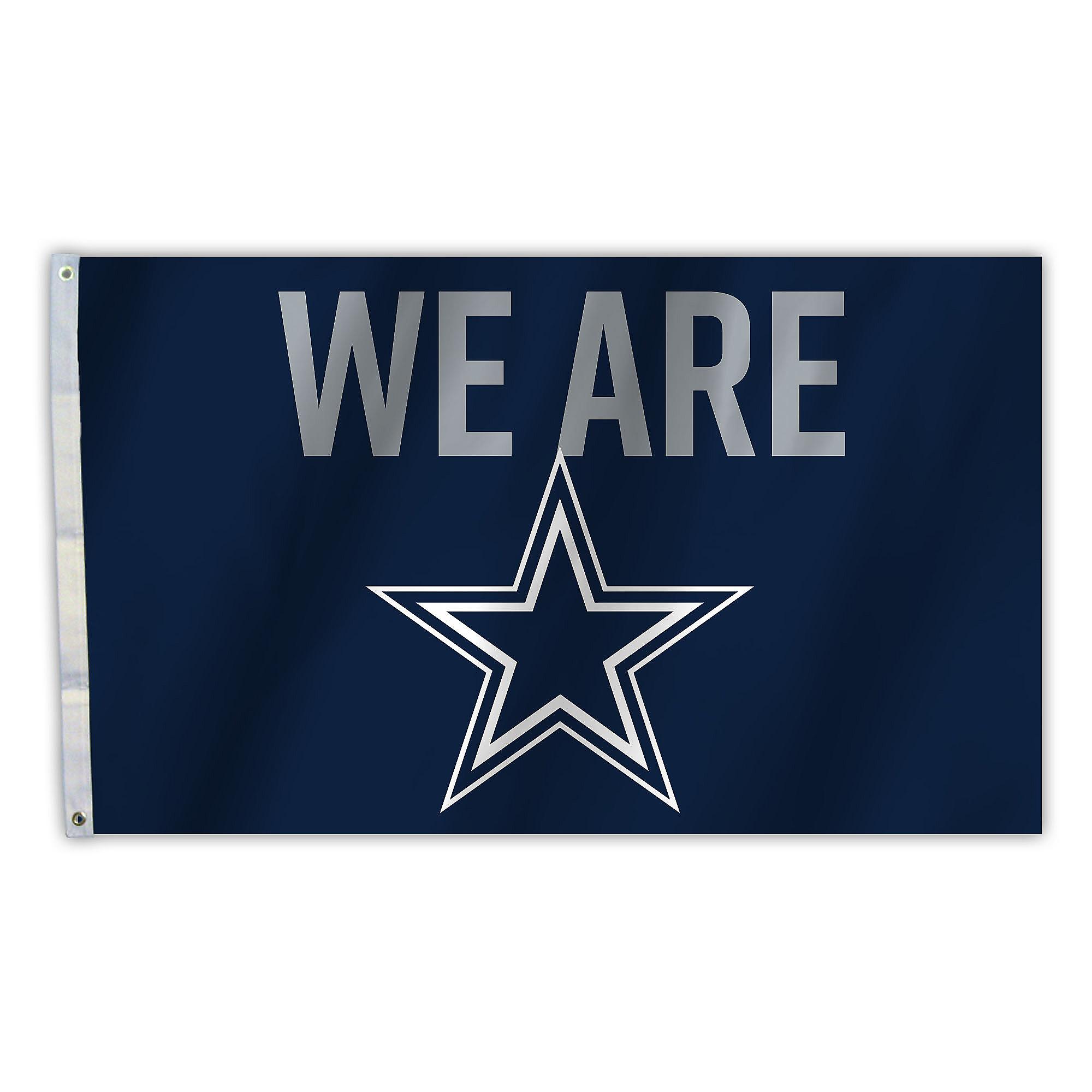 Dallas Cowboys 3x5 We Are Flag