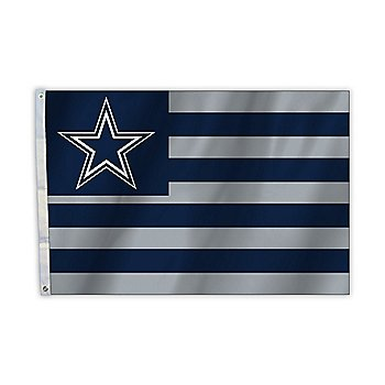 Dallas Cowboys 2 x 3 American Flag