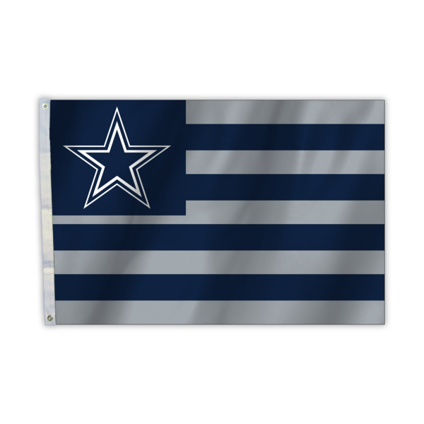 Dallas Cowboys 2 x 3 American Flag