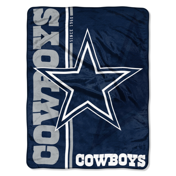 Dallas Cowboys Restructure Micro Raschel Throw