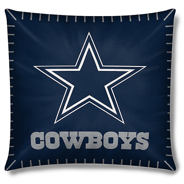 Dallas Cowboys Printed Contrast Pillow