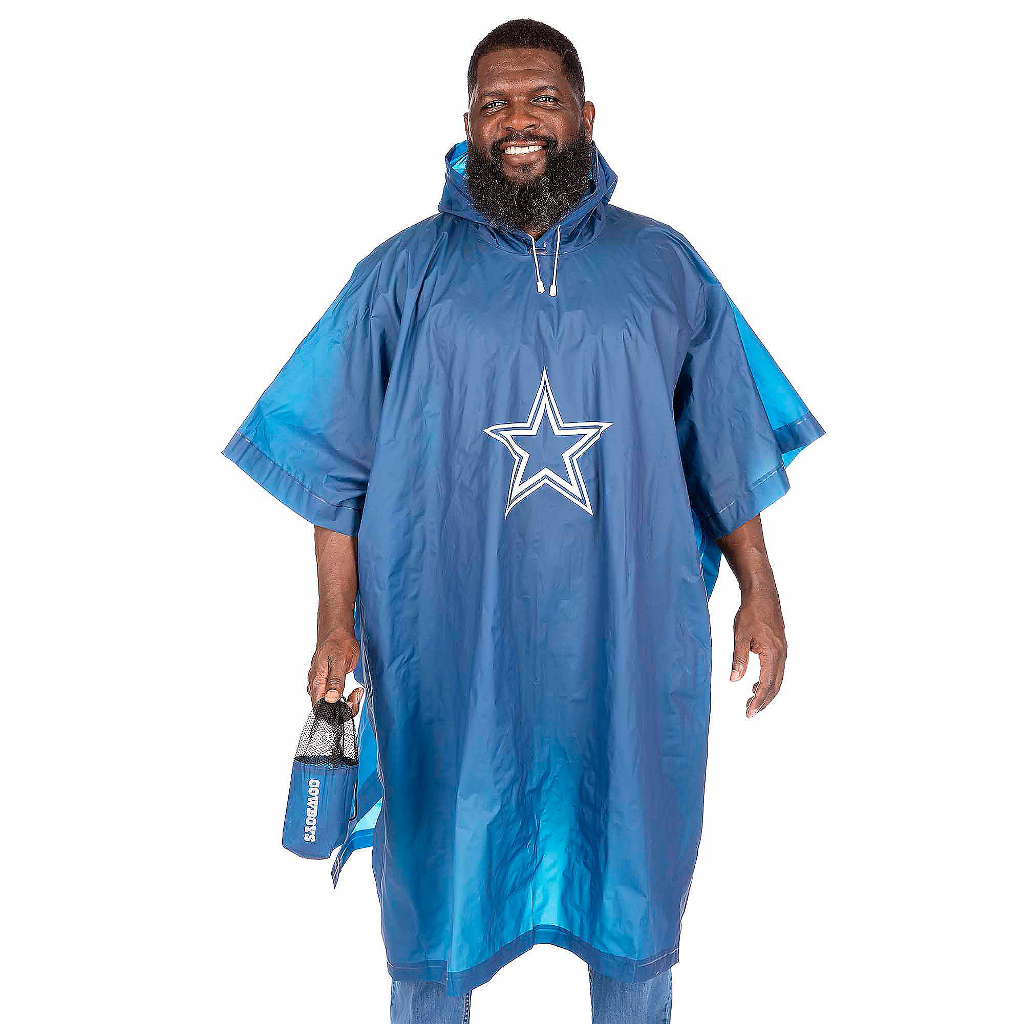 Dallas Cowboys Unisex Delux Poncho