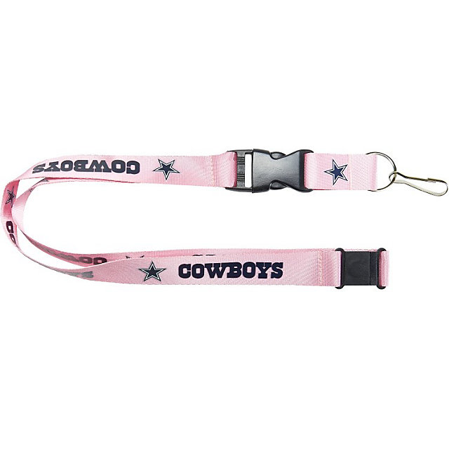 Dallas Cowboys Pink Lanyard