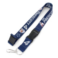 Dallas Cowboys Dak Prescott Player Action Lanyard