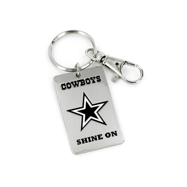 Dallas Cowboys Shine On Keyring