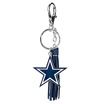 Dallas Cowboys Star Tassel Keyring