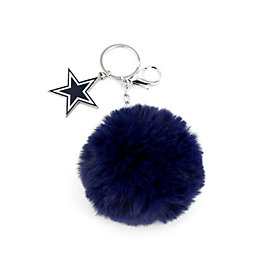 Dallas Cowboys Pom Star Keyring