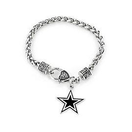 Dallas Cowboys Yurman Look Bracelet