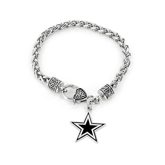 Dallas Cowboys Braided Cable Bracelet