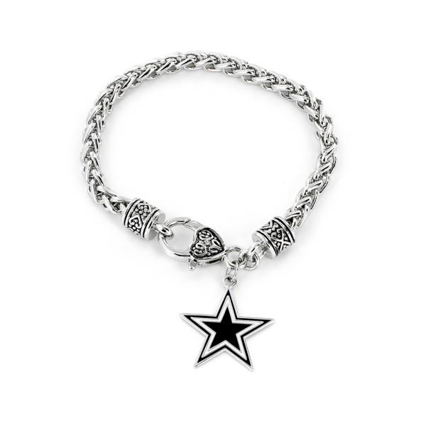 Dallas Cowboys Braided Cable Bracelet