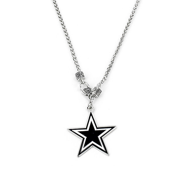 Dallas Cowboys Yurman Look Necklace