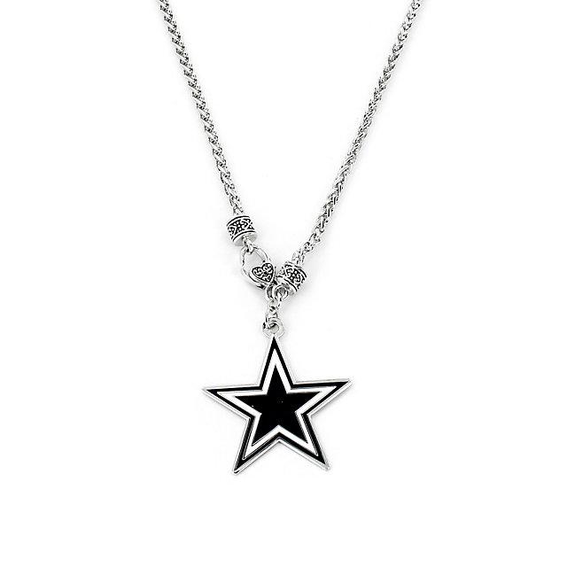 Dallas Cowboys Yurman Look Necklace