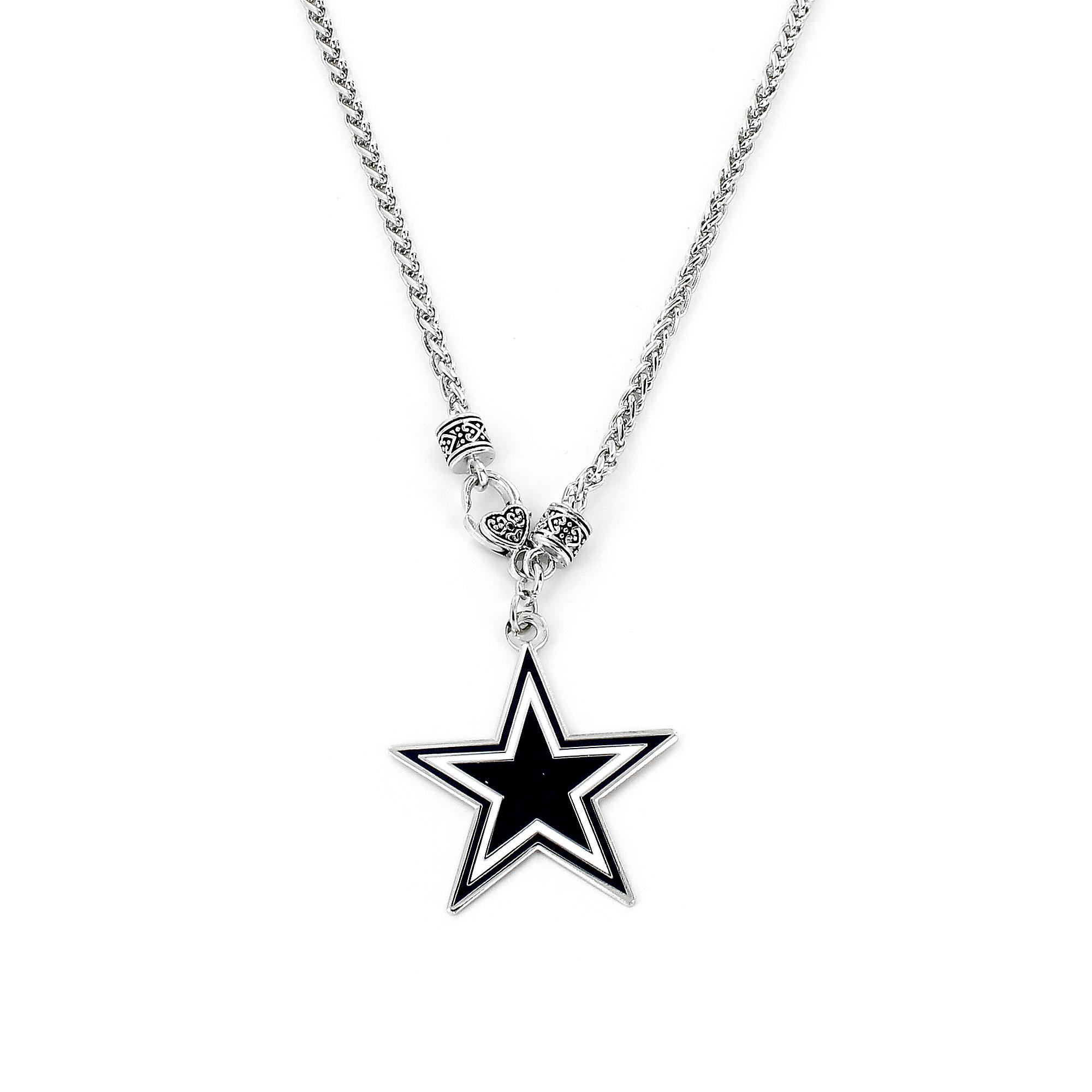Dallas Cowboys Braided Cable Necklace