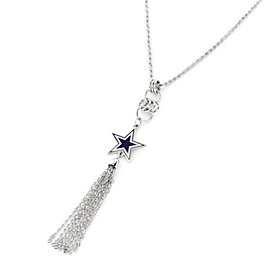 Dallas Cowboys Star Tassel Necklace