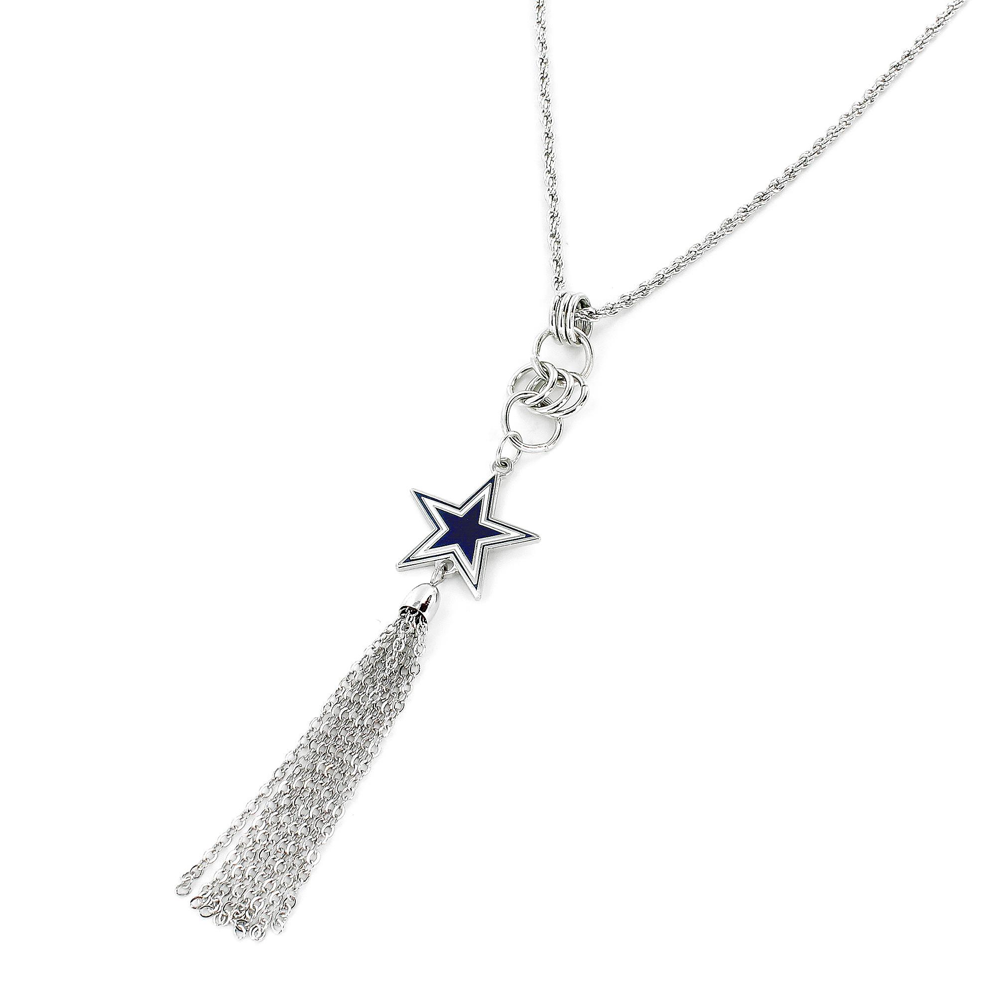 Dallas Cowboys Star Tassel Necklace