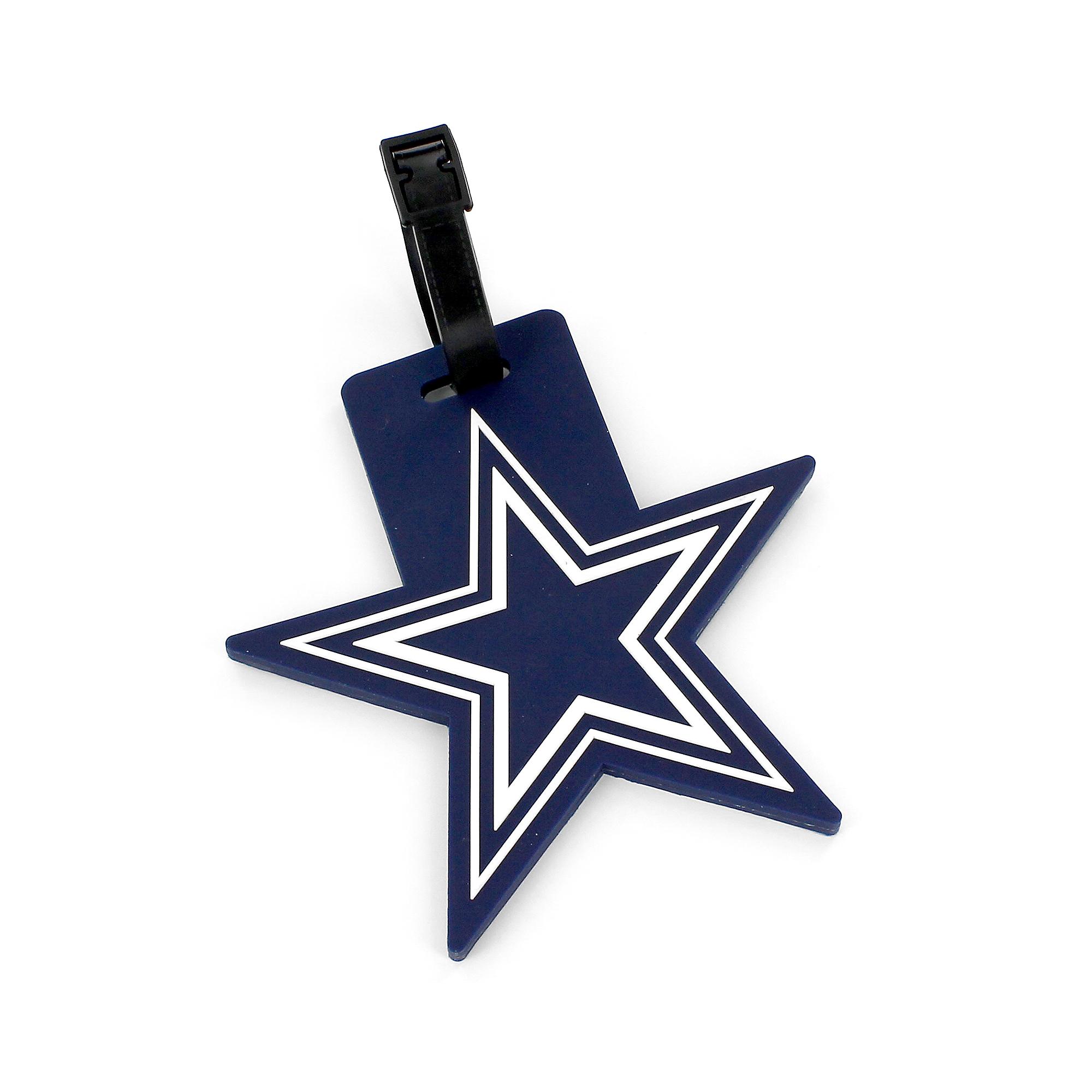Dallas Cowboys Cut-Out Star Bag Tag  b9f70f95d