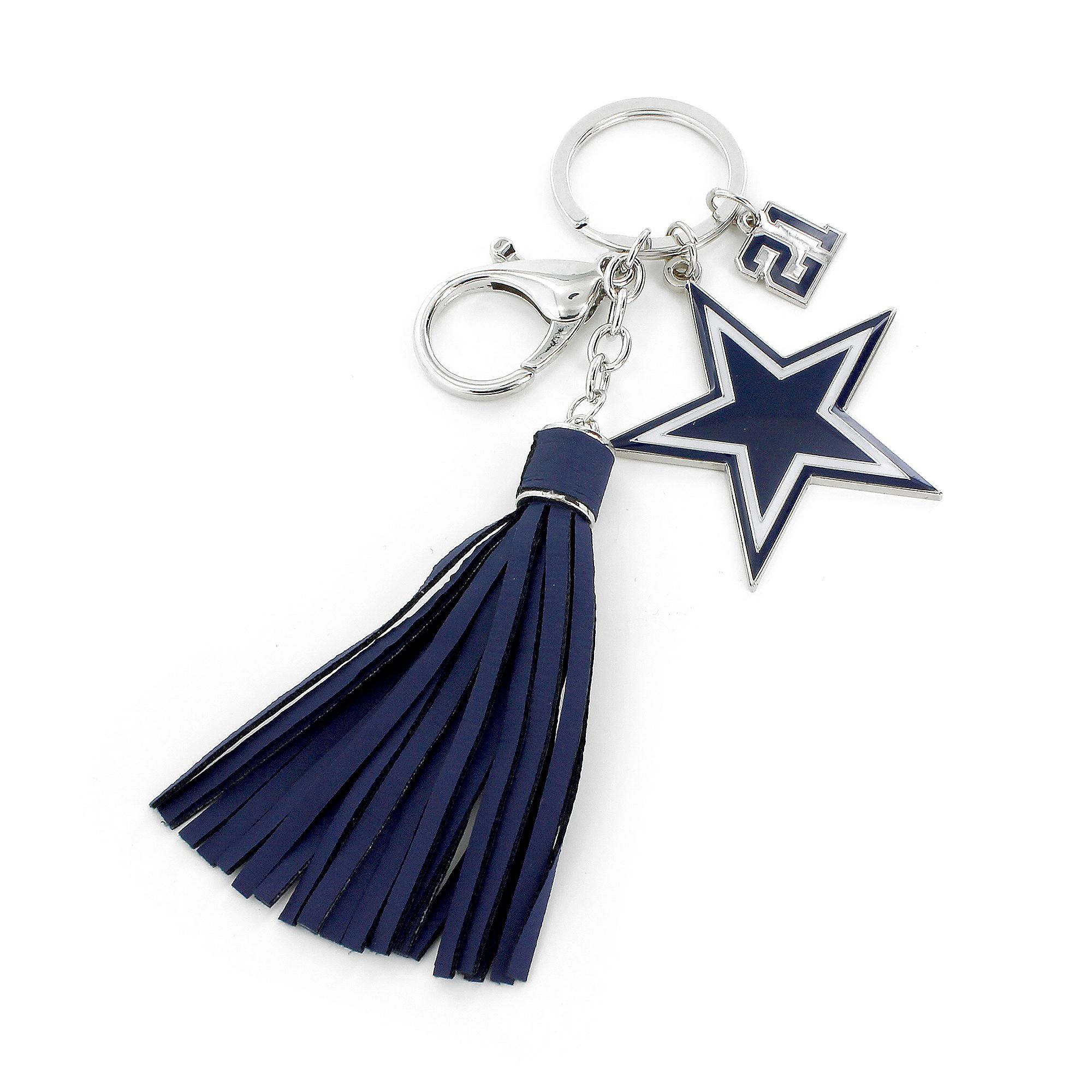 Dallas Cowboys Ezekiel Elliott Tassel Key Tag