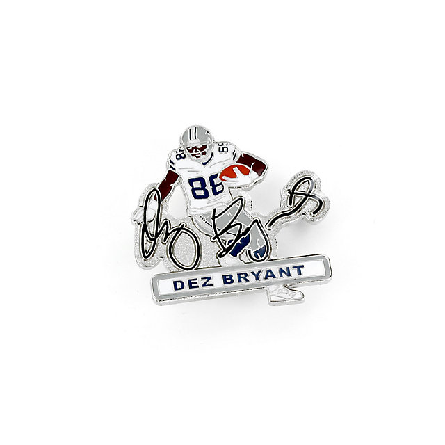 Dallas Cowboys Dez Bryant Signature Pin