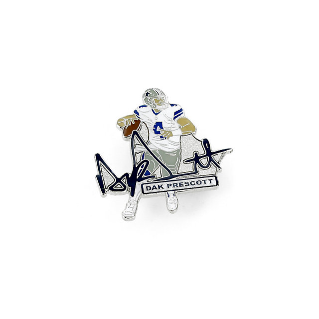 Dallas Cowboys Dak Prescott Signature Pin