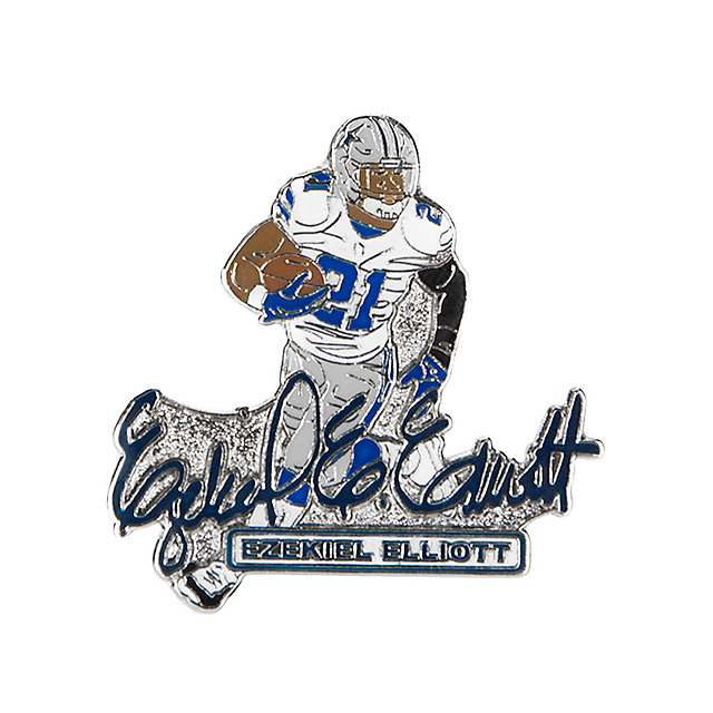 Dallas Cowboys Ezekiel Elliott Signature Pin