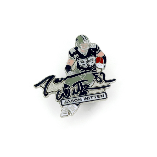 Dallas Cowboys Jason Witten Signature Pin