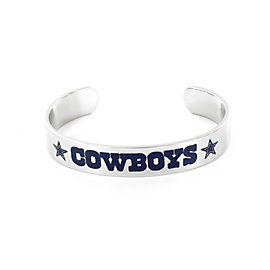 Dallas Cowboys Silver Cuff Bracelet
